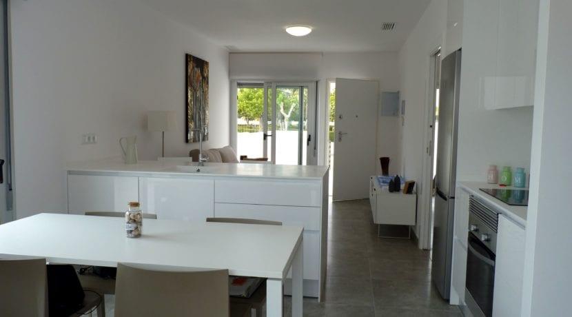 Residencial La Rambla - cocina y salon