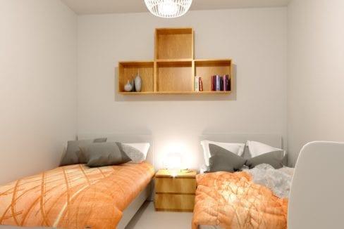 dormitorio mediano